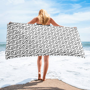 Zodiac Symbol Towel (Cancer) - Zodi-Hacks Apparel