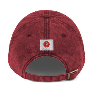 Zodi-Hacks Taurus Vintage Cotton Twill Cap - Zodi-Hacks Apparel