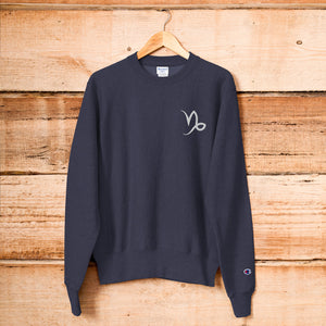Zodi-Hacks Capricorn Champion Sweatshirt - Zodi-Hacks Apparel