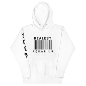 The Realest Unisex Hoodie (Aquarius) - Zodi-Hacks Apparel