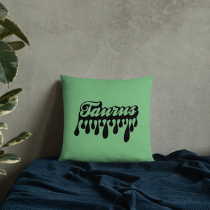 The Drip Zodiac Pillow (Taurus)