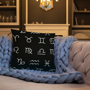 Zodiac Unity Pillow (White) - Zodi-Hacks Apparel