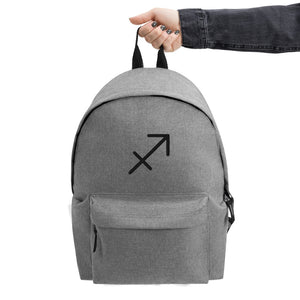 Zodi-Hacks Sagitarrius Embroidered Backpack - Zodi-Hacks Apparel