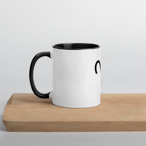 Aries Symbol Mug with Color Inside - Zodi-Hacks Apparel