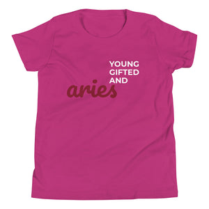The Gifted Zodiac Youth Tee (Aries) - Zodi-Hacks Apparel