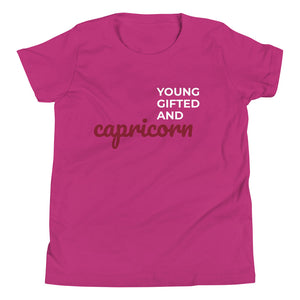 The Gifted Zodiac Youth Tee (Capricorn)