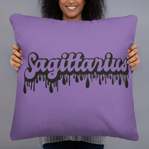 The Drip Zodiac Pillow (Sagittarius) - Zodi-Hacks Apparel