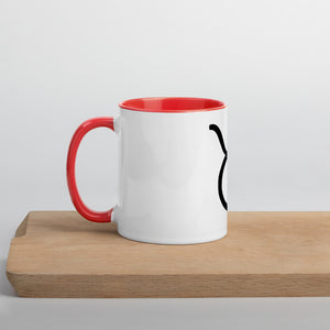 Taurus Symbol Mug with Color Inside - Zodi-Hacks Apparel