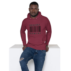 The Realest Zodiac Unisex Hoodie (Gemini) - Zodi-Hacks Apparel