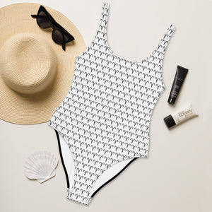 Zodiac Symbol One-Piece Swimsuit (Aries) - Zodi-Hacks Apparel