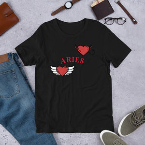 Good vs. Evil Unisex T-Shirt (Aries) - Zodi-Hacks Apparel