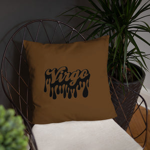 The Drip Zodiac Pillow (Virgo) - Zodi-Hacks Apparel