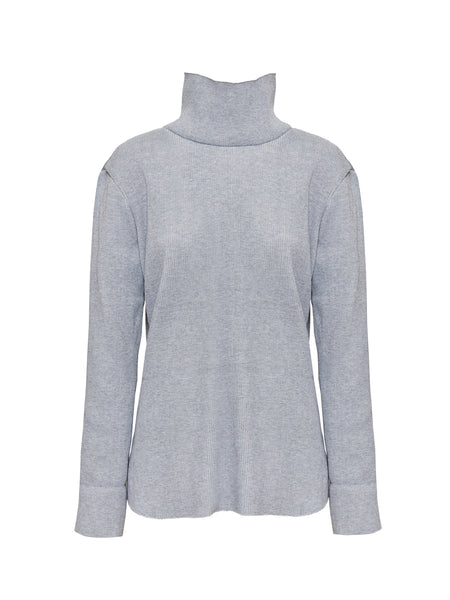 HAMILTON KNIT TOP | GREY
