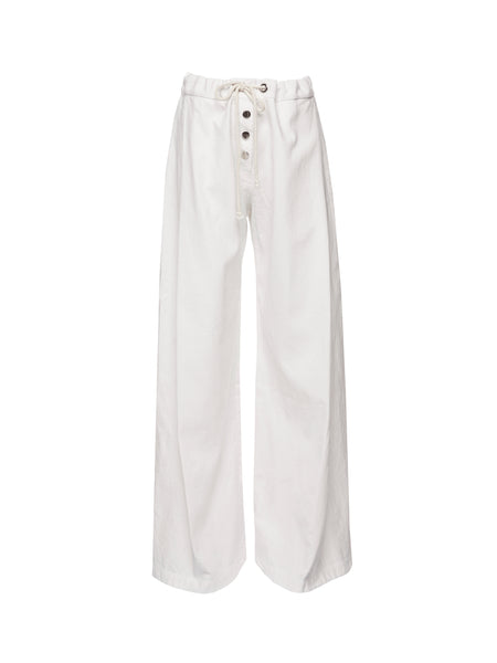 ROCCO WIDE LEG PANT | POWDER