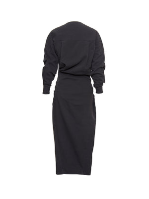 RICARD TWIST DRESS | BLACK