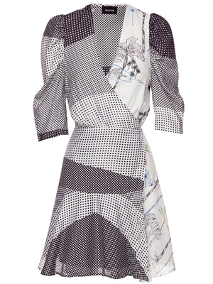 BADU WRAP DRESS