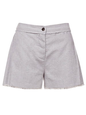 BARBERO PLEAT SHORT | SLATE