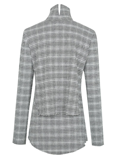 SUGAR TOP | BLACK CHECK