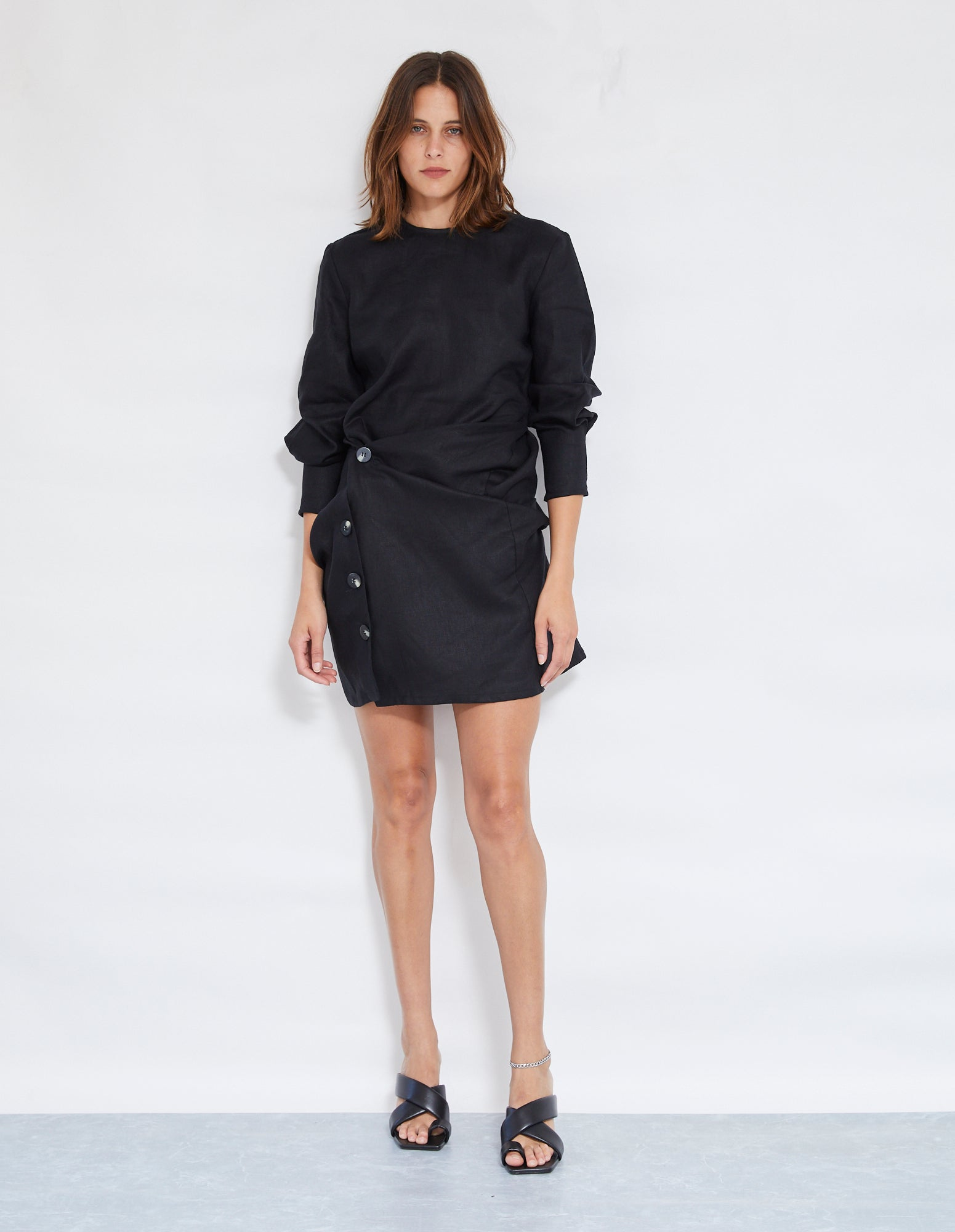 MATISSE TWIST DRESS | BLACK