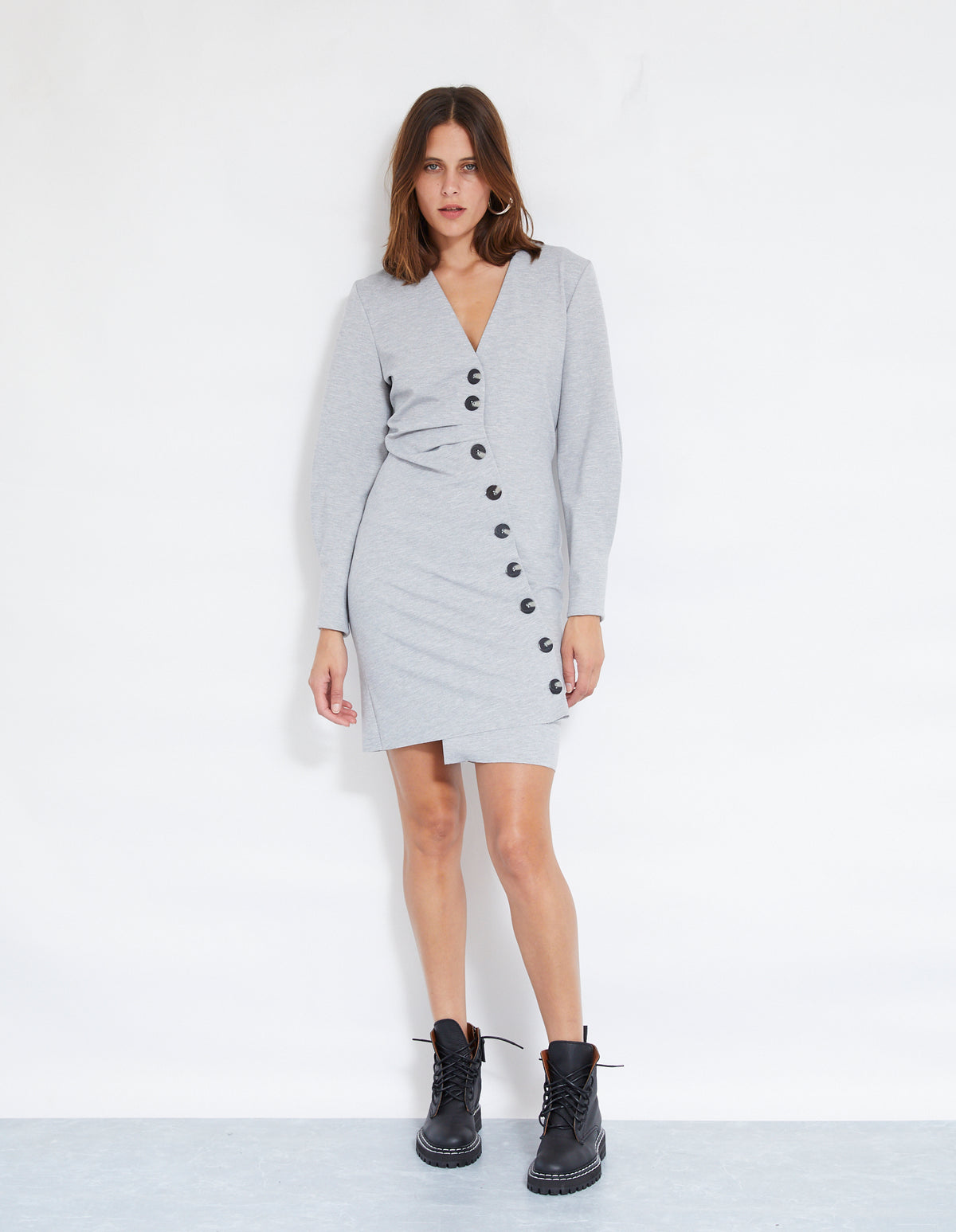 ANDERSON DRESS | GREY