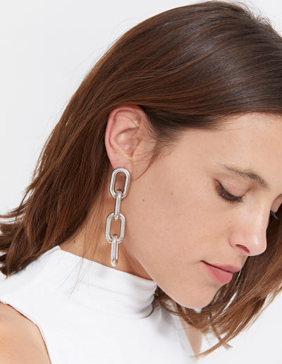 MIGEL EARRINGS | SILVER
