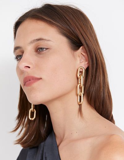 MIGEL EARRINGS | GOLD