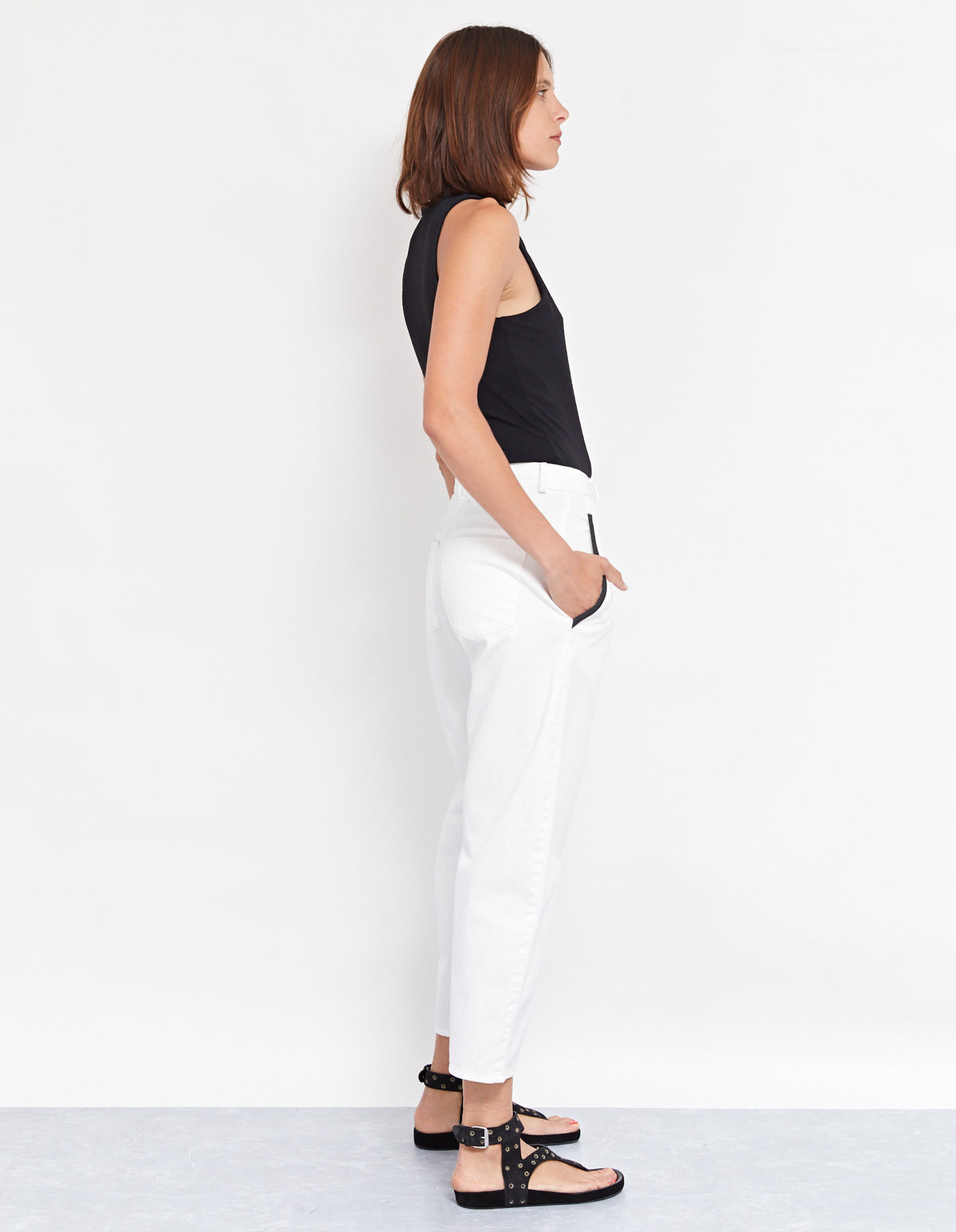 SWITCH PANT | WHITE