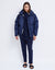 PFEIFFER PUFFER JACKET | NAVY