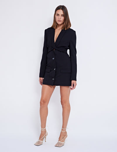 BOSS TWIST BLAZER | BLACK