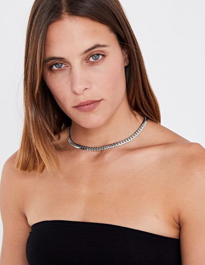 SLITHER NECKLACE | SILVER