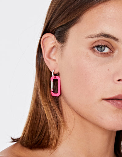 THE KEYS EARRING | PINK