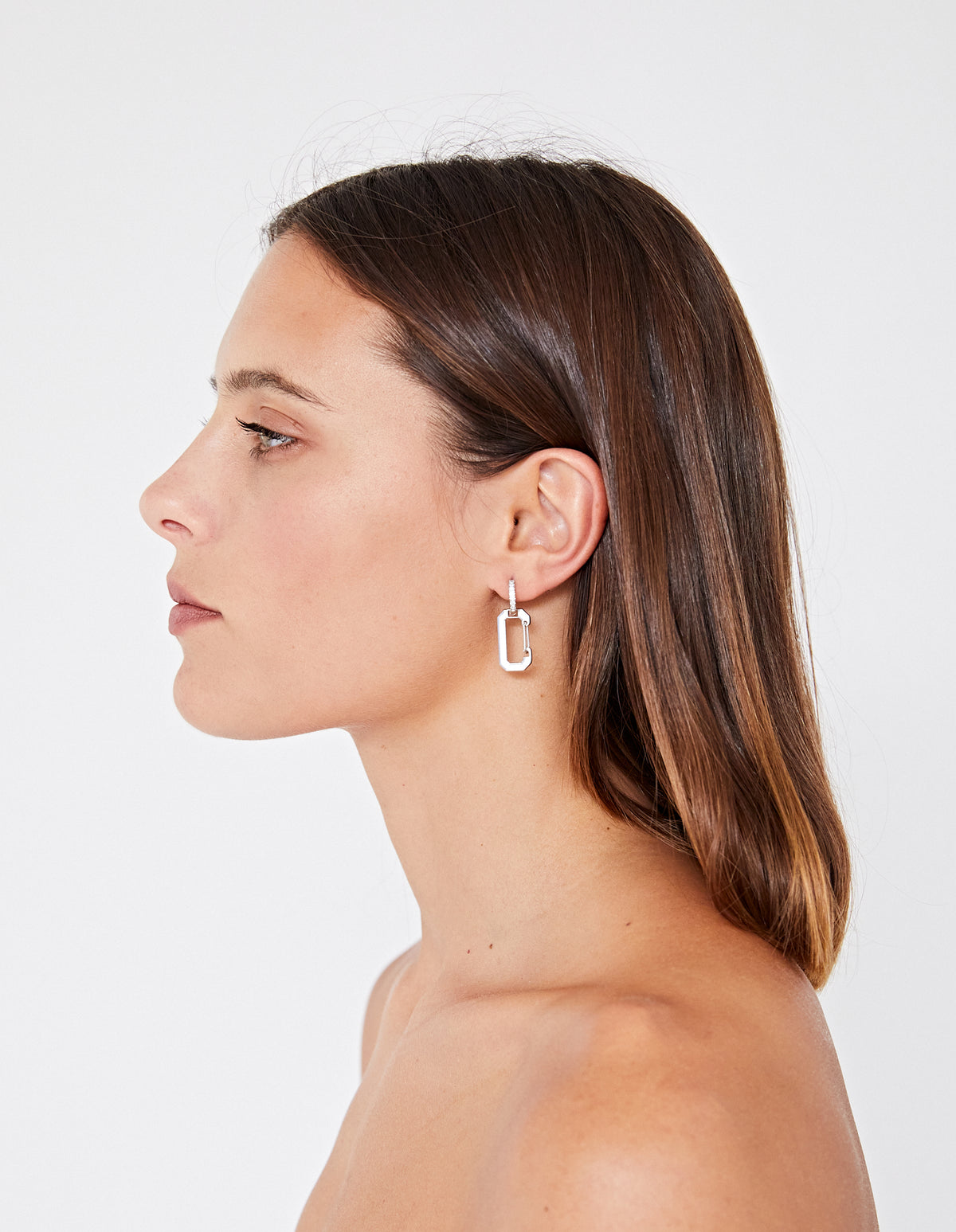 THE MINI KEYS EARRING | SILVER