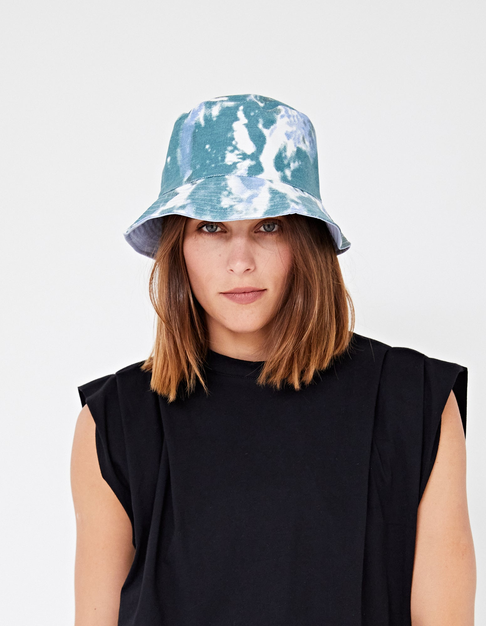 BENZO BUCKET HAT | BLUE / TEAL