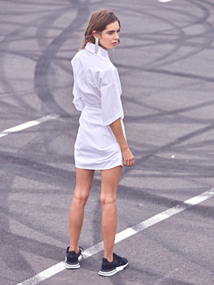 Hunter Shirt Dress | Powder