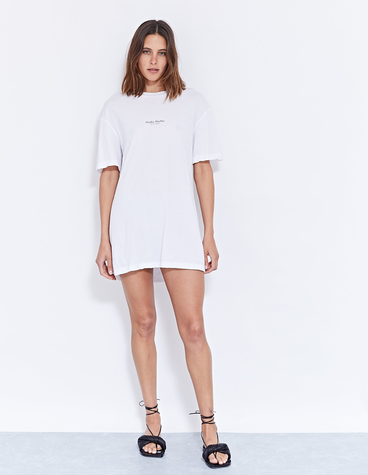 STUDIO DISCO DRESS | WHITE