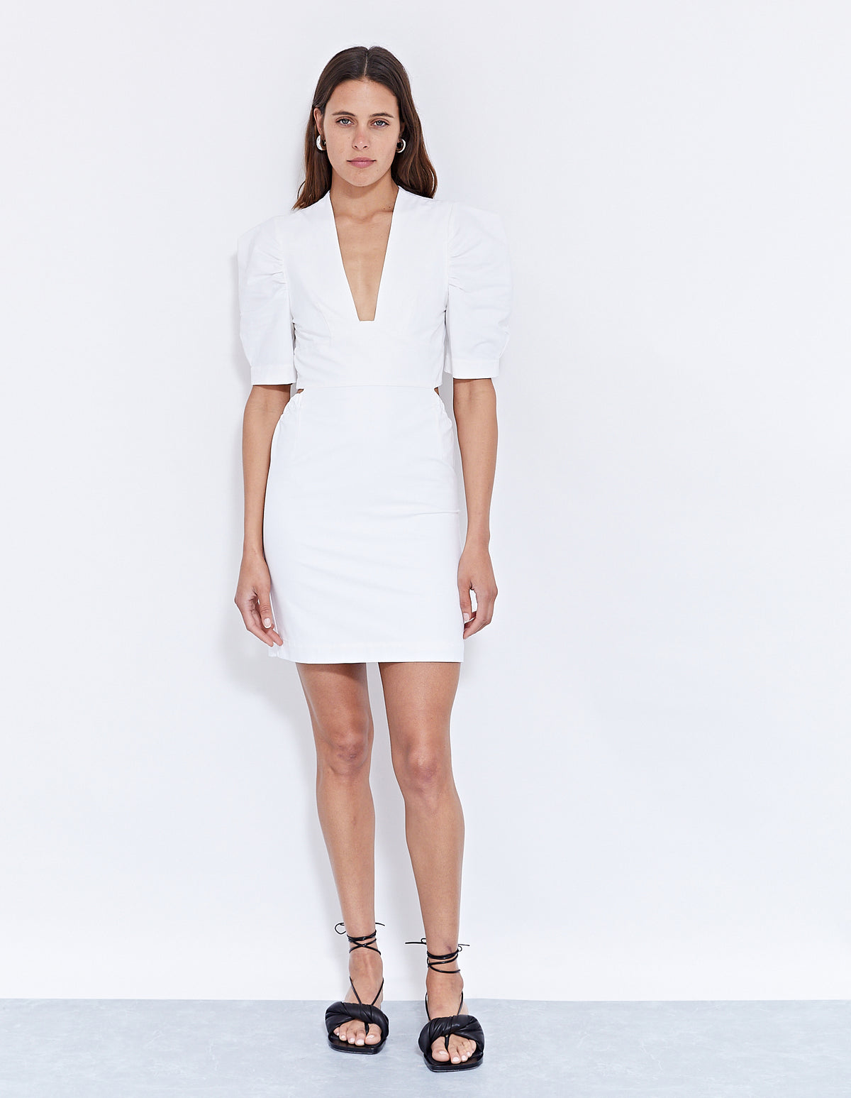 THE TORRINI DRESS | POWDER