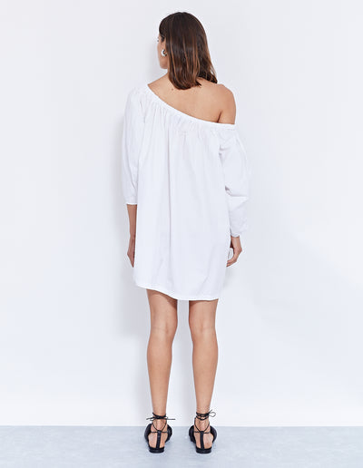 LIDO MINI DRESS | POWDER