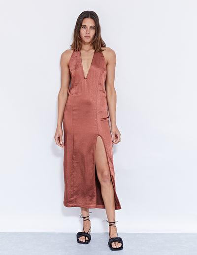 SUKIE HALTER DRESS