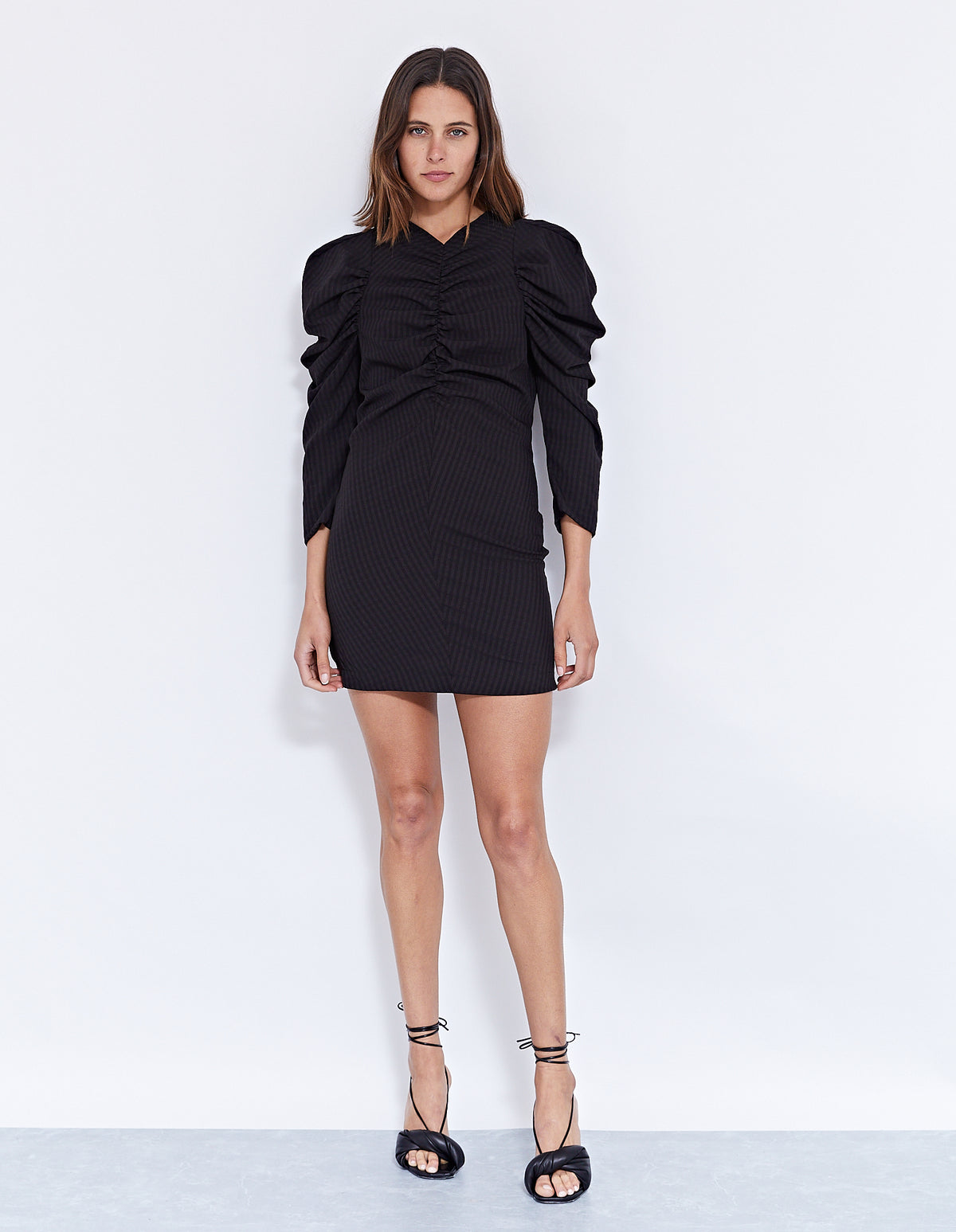 MARCO MINI DRESS | BLACK