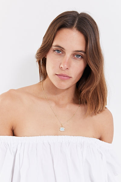 EYES WIDE OPEN NECKLACE
