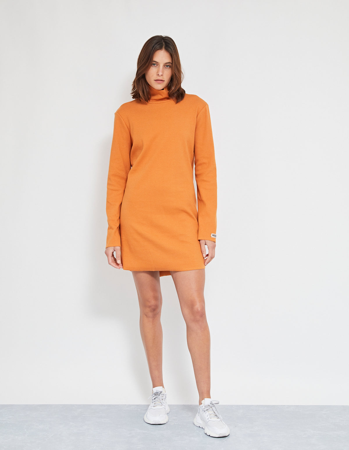 BRUNO DRESS | RUST