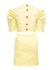 Torrini Poplin Dress | Lemon