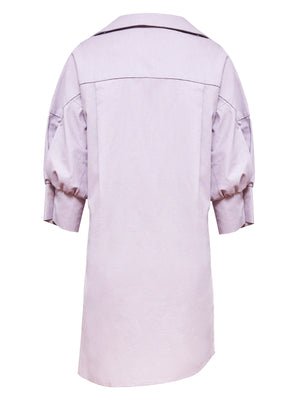 Francis Shirt Dress | Lilac