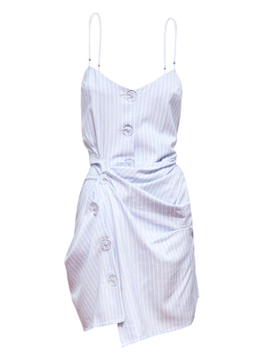 CABALLERO TWIST DRESS | BABY BLUE