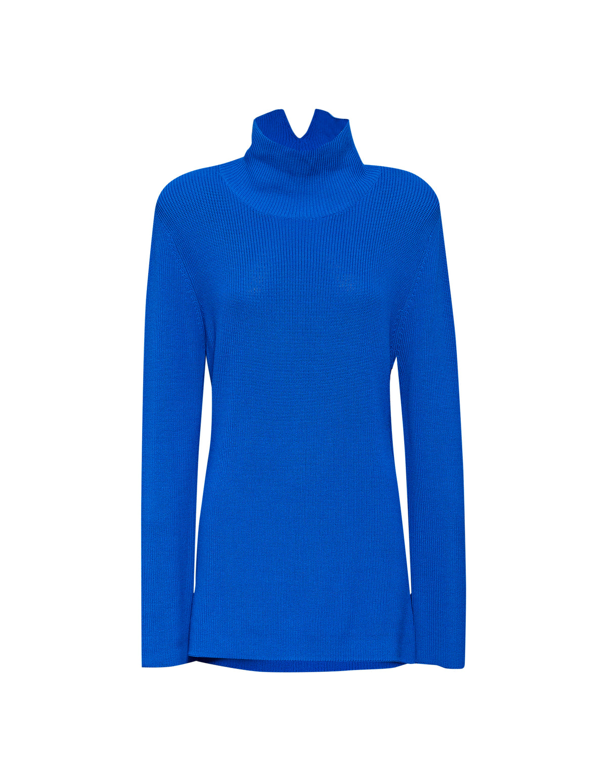 ROBBIE KNIT TOP | BRIGHT BLUE