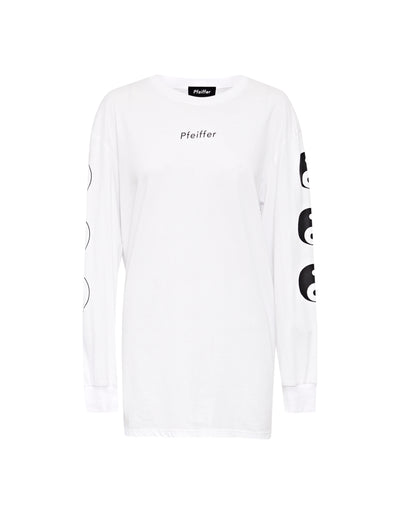 THREE LAKES YING YANG TEE | POWDER