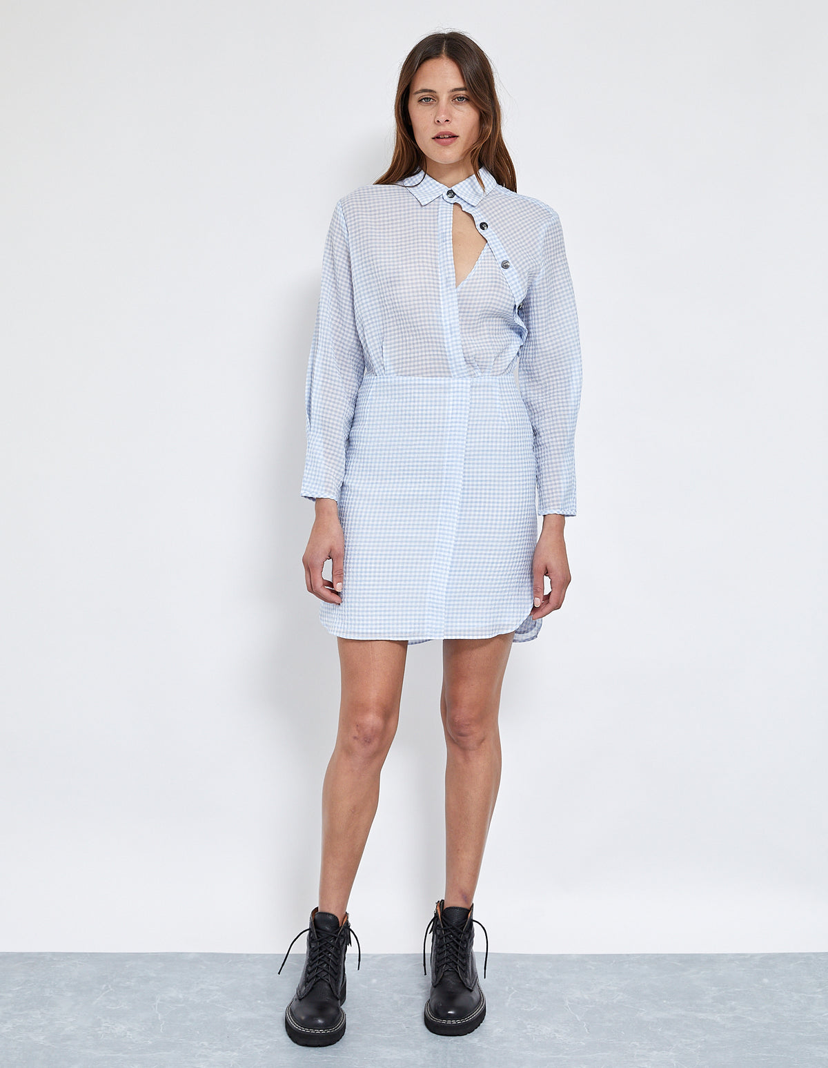 BAM BAM MINI SHIRT DRESS
