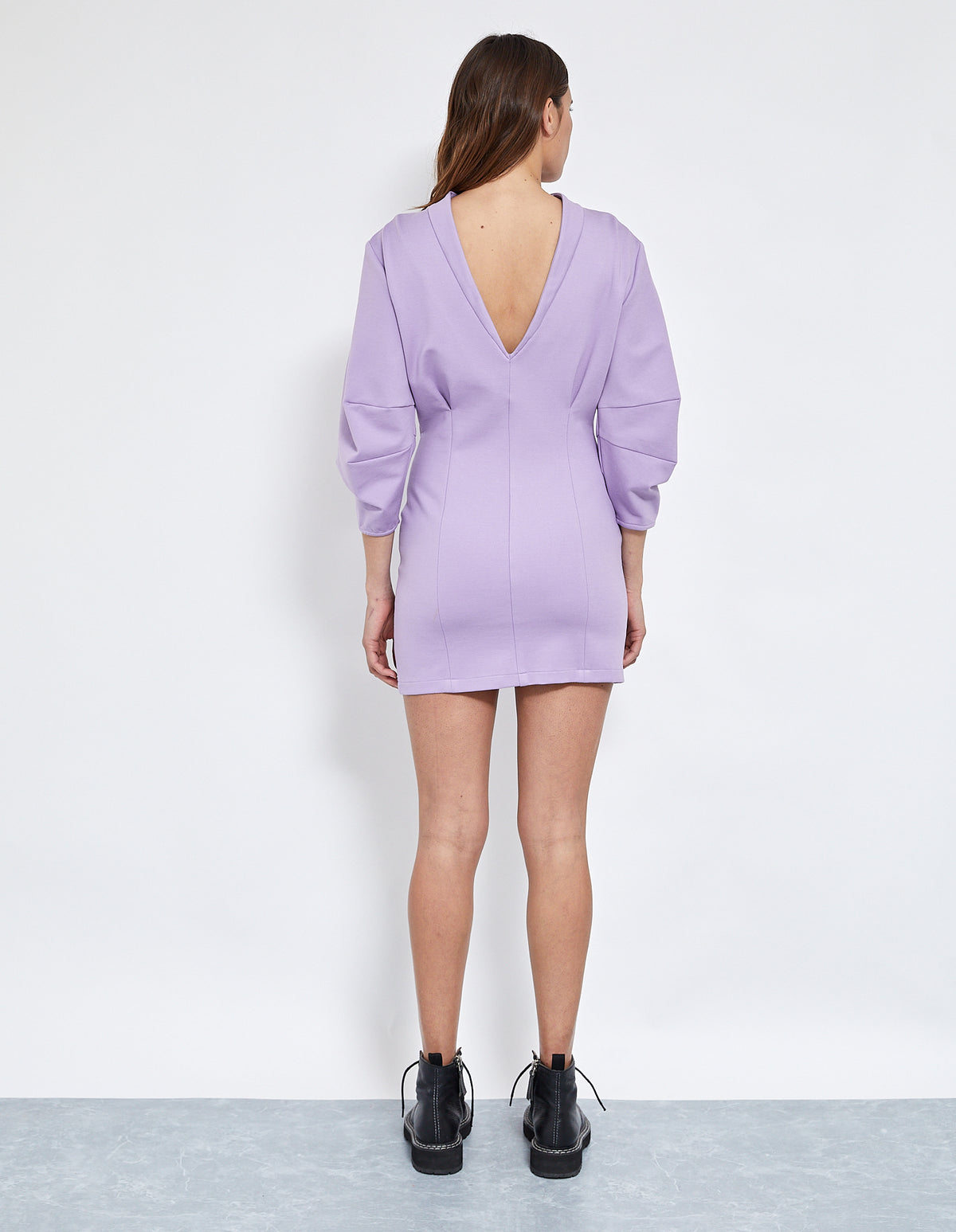 ANDERSON DION DRESS | LILAC