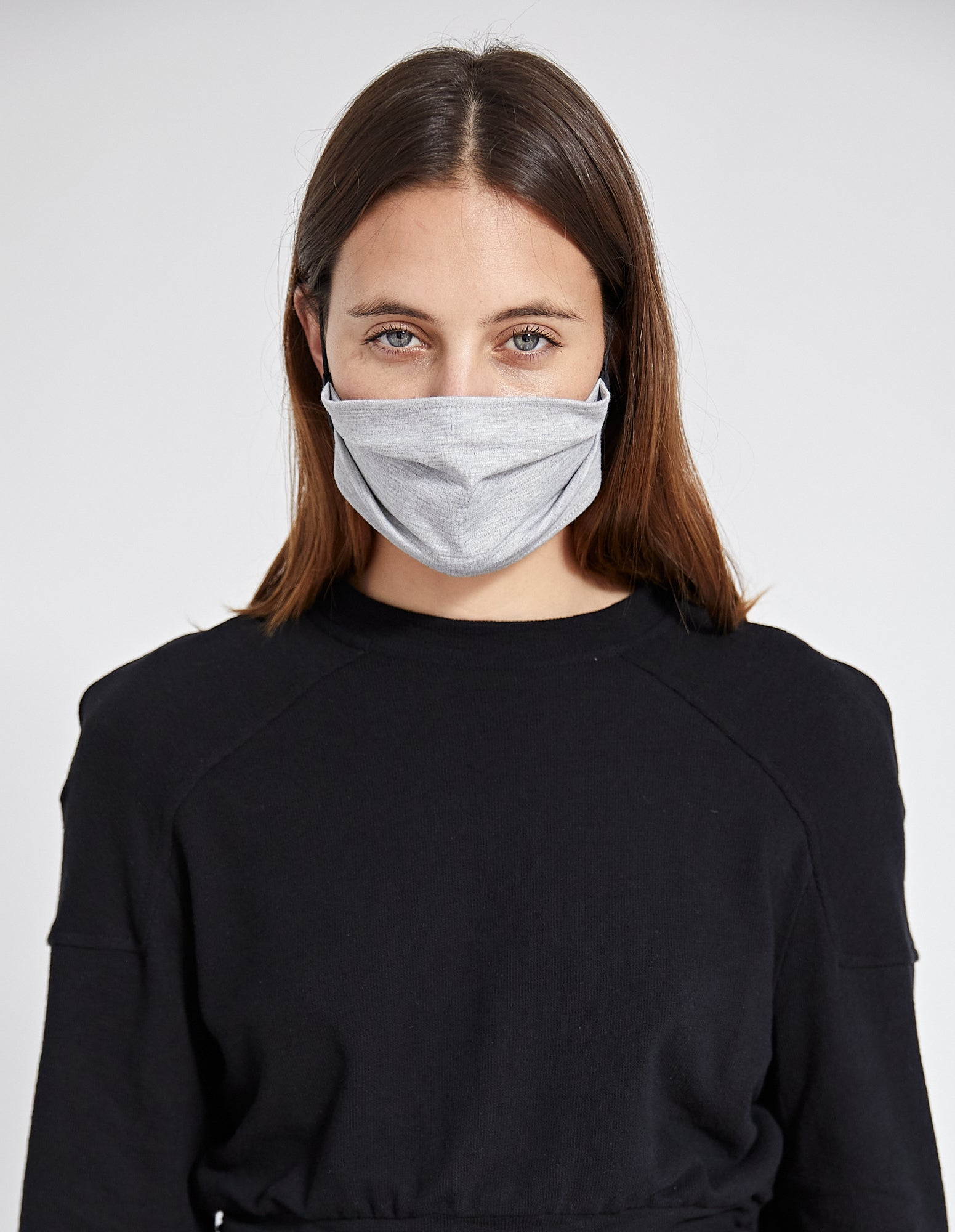 PFEIFFER MASK | GREY KNIT