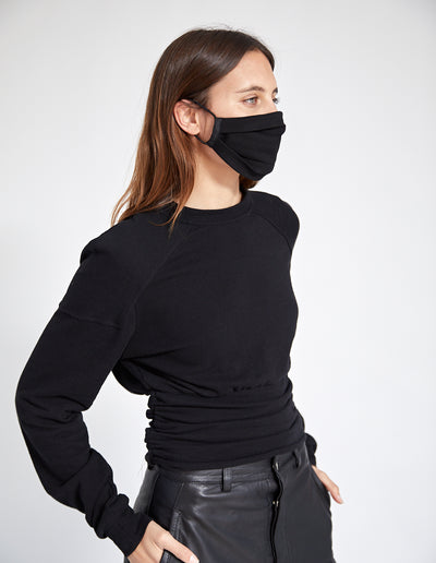 PFEIFFER MASK | BLACK KNIT